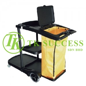 Janitor Cart 314 (Black)