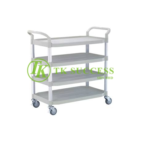 4 Tier Utilities Cart  (Black)