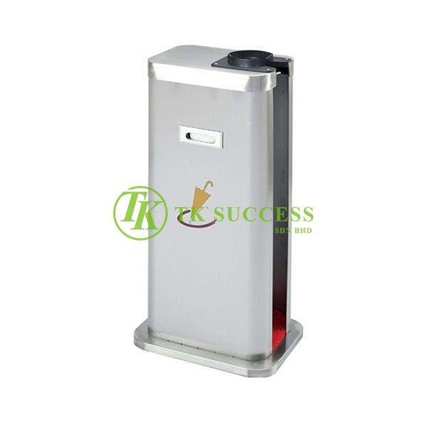 Stainless Steel Single Wet Umbrella Plastic Wrapper Dispenser