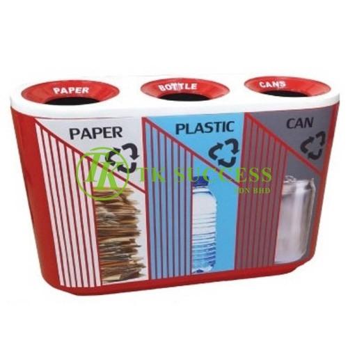 Recycle Trez Bin  (3 in 1)