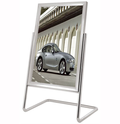 Stainless Steel Poster Sign Board Stand