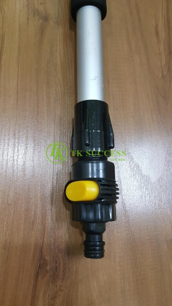 Cleaning Brush with Telescopic Water Inlet Extention Pole