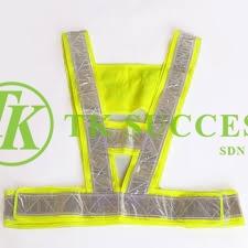 Safety Vest V Shape (Reflective)
