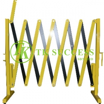 Epoxy Retractable Barricade Barrier