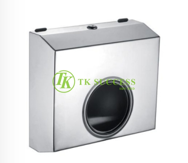 Stainless Steel Hand Towel Dispenser (Medium) - Transparent