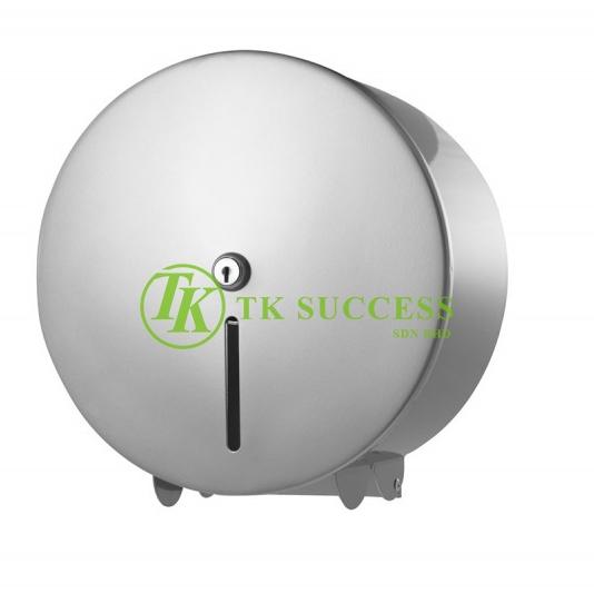 Stainless Steel Toilet Roll Tissue Dispenser (Center Lock)