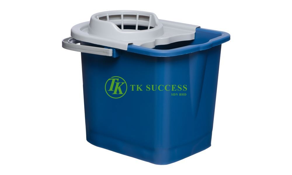 Mop Pail Bucket with Press Cover 13 L