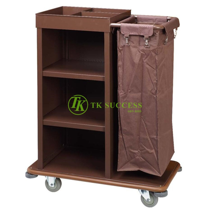 Powder Coated Mini Housekeeping Trolley