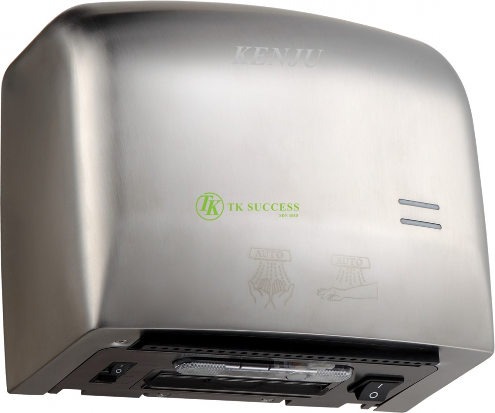 Kenju Stainless Steel Compact Hand Dryer 013 (HEPA)