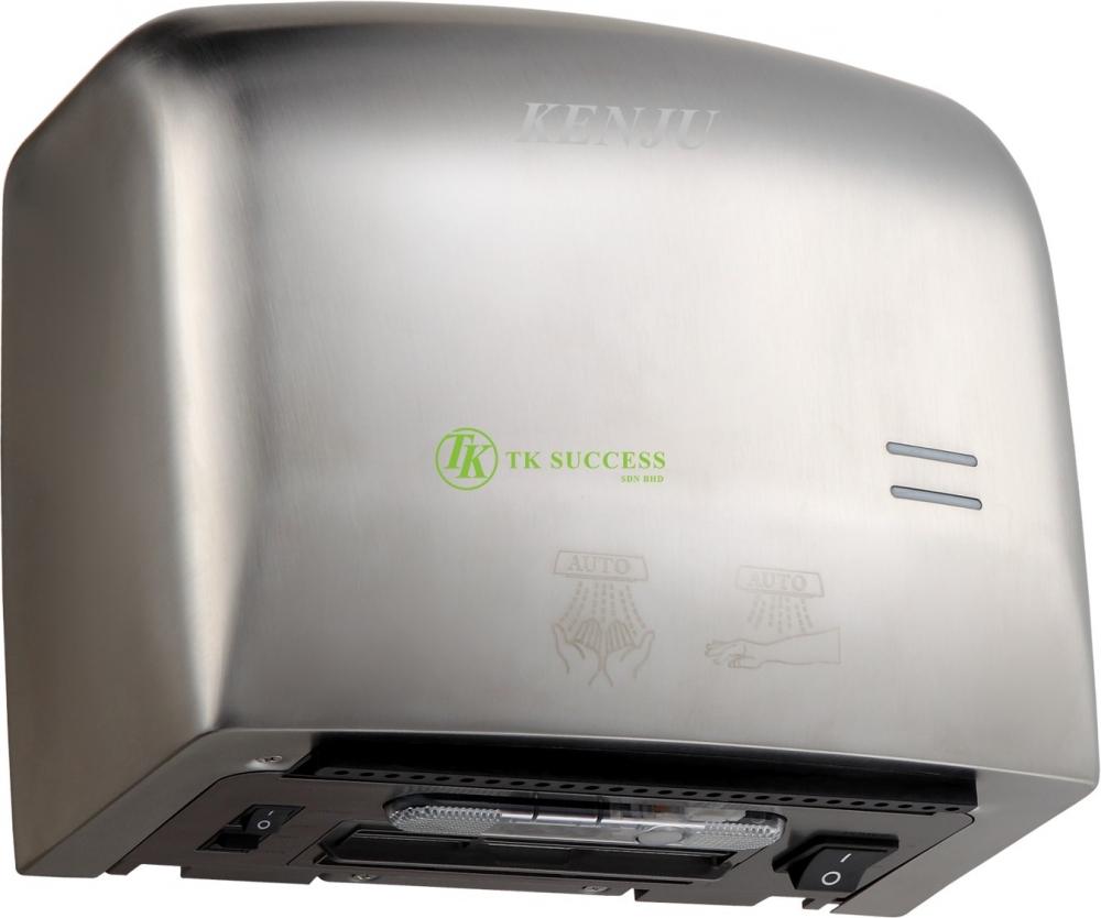 Kenju Stainless Steel Compact Hand Dryer 013 (HEPA)