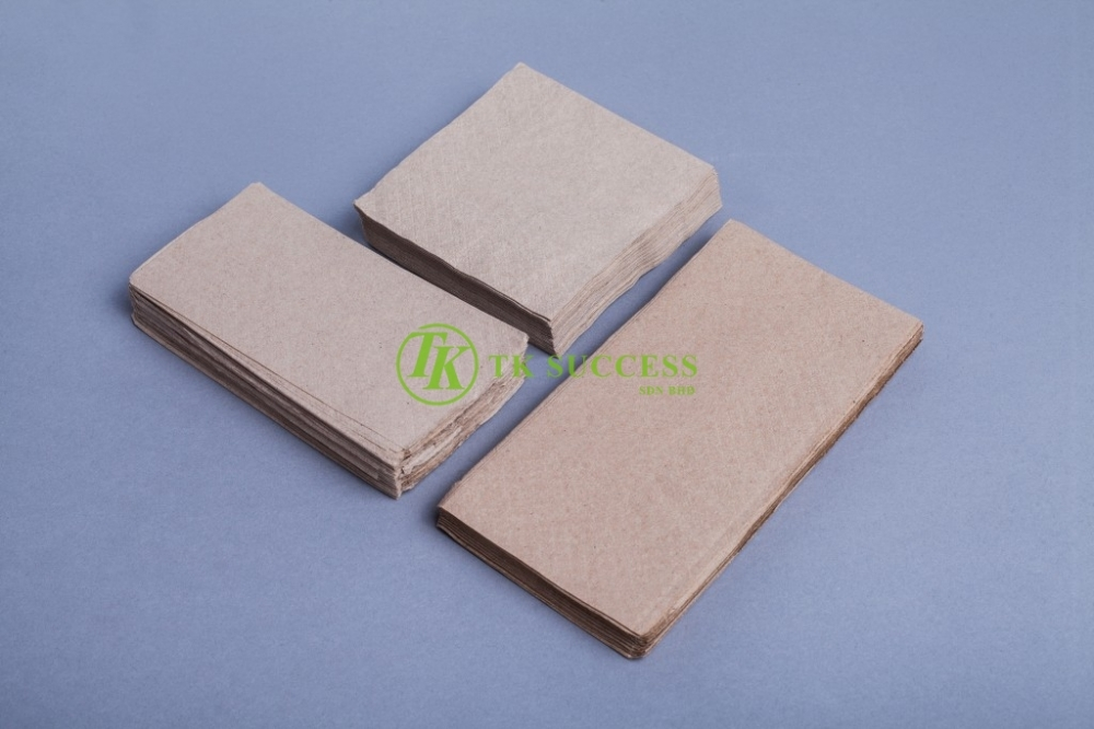 Brown Dinner Napkin Tissue 1Ply & 2Ply