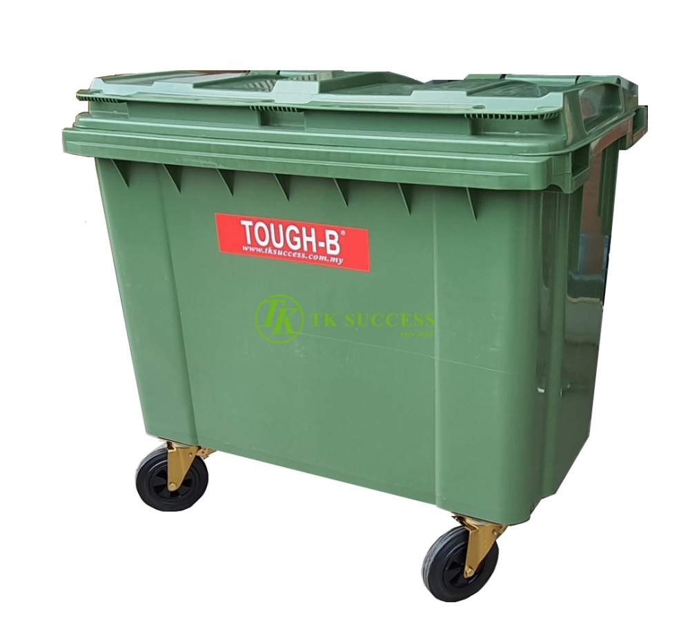 TOUGH-B Mobile Garbage Bin 660 Liter (EN840)
