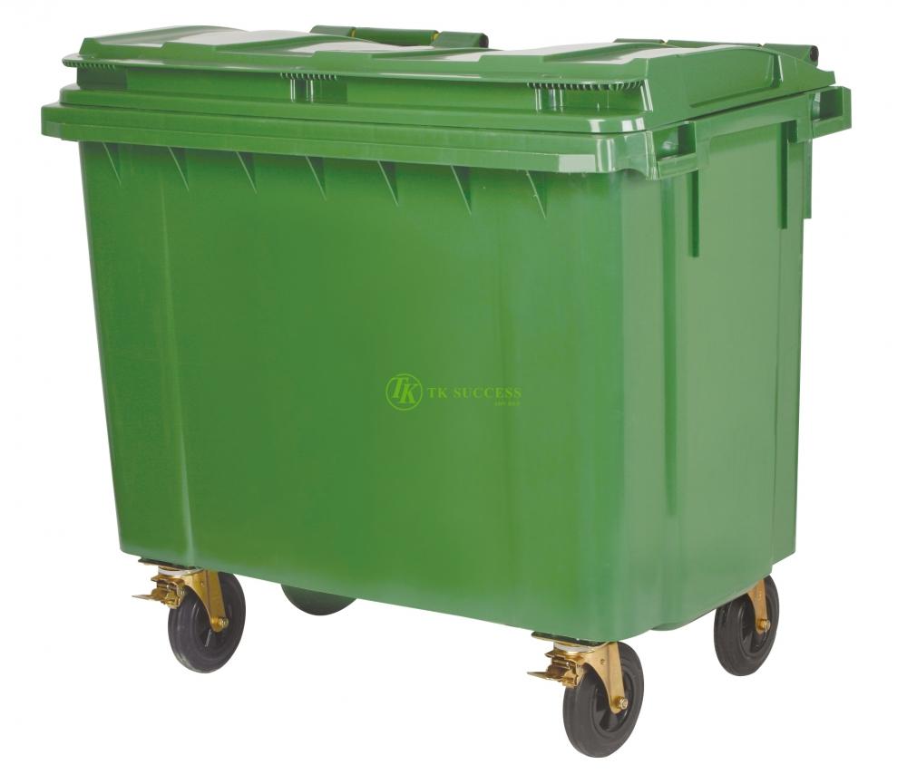OTTO Mobile Garbage Bin 660 Liter (EN840)