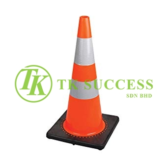 Traffic Cone 30 with Reflective Sticker (Heavy Duty)