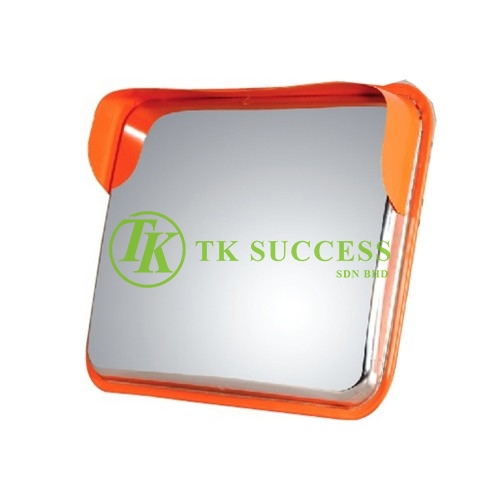 Stainless Steel Square Convex Mirror (Outdoor)