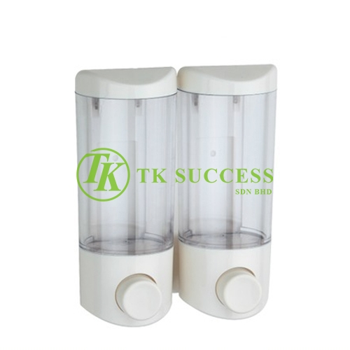 Transparent Twins Soap Dispenser