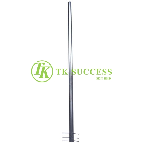 Mild Steel Powder Coating Pole For Outdoor Convex Mirror