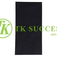 Black Dinner Napkin Quilted 2 Ply