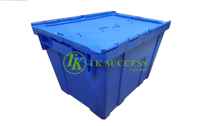 Plastic Container Box with Lid -Japan