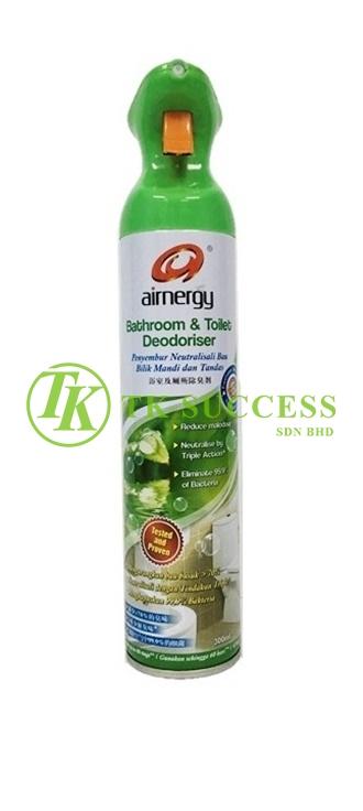 Airnergy Bathroom & Toilet Deodorizer Freshener 300ml