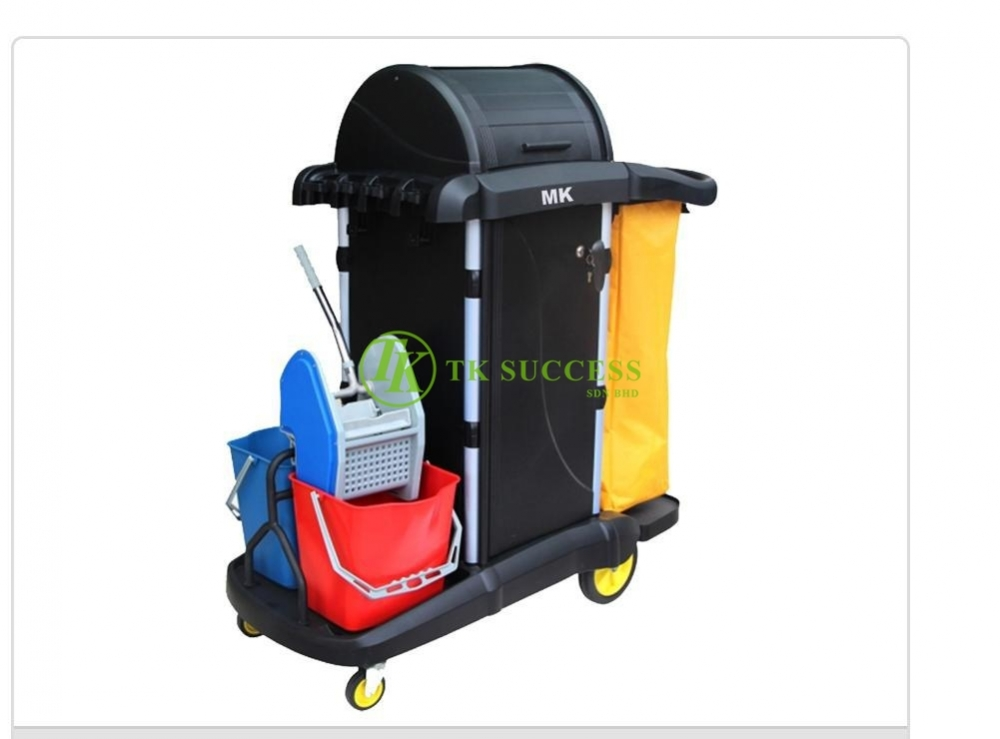Multipurpose Janitor Cart Full Set