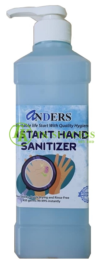 Anders Instant Hand Sanitizer (1 Litres)