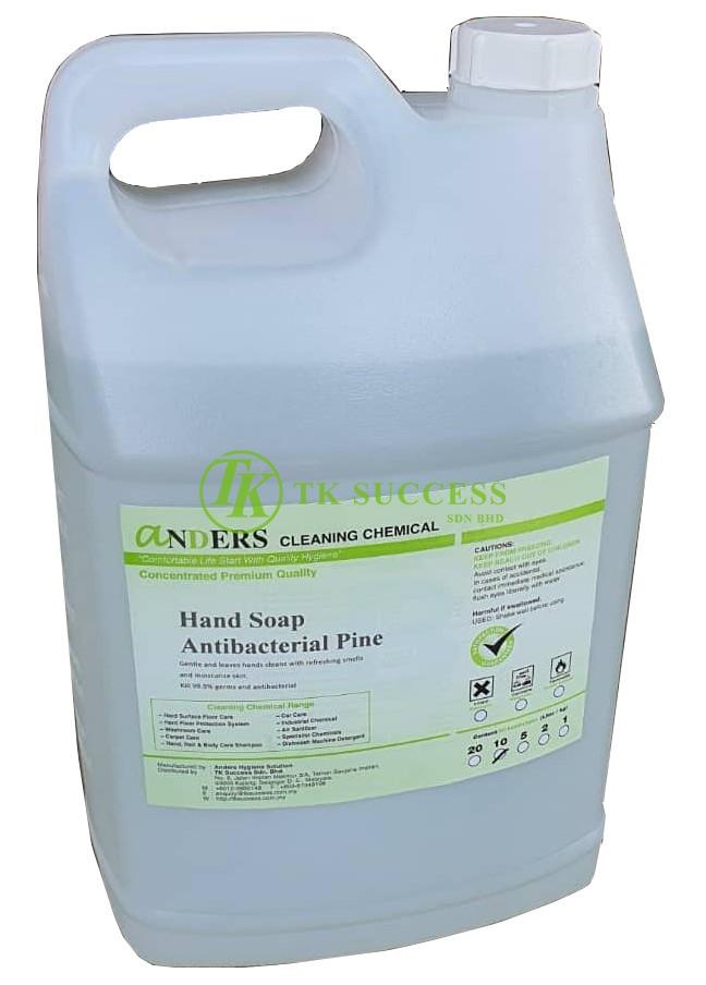 Anders Hand Soap Antibacterial Pine 10L
