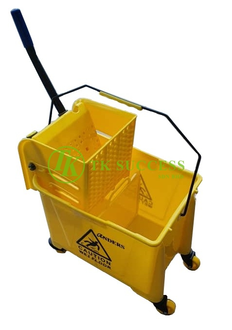 Anders Wringer Mop Bucket 26L Side Press