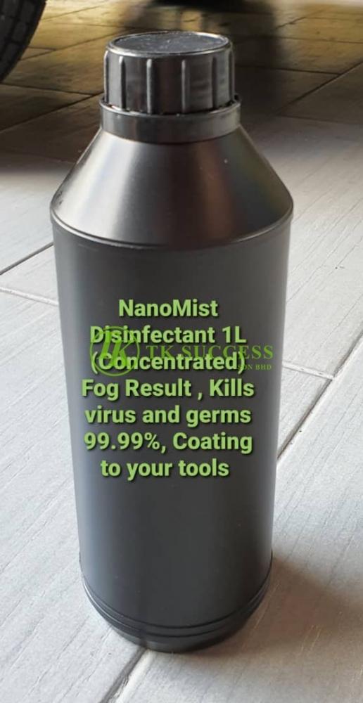 Nanomist Fog Disinfectant (1 liter) Concentrate