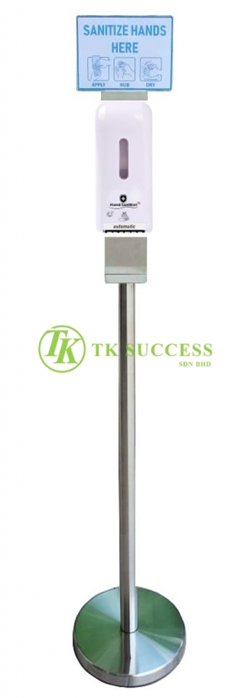 Vida Auto Sensor Hand Sanitizer Liquid Dispenser with Stainless Steel Stand