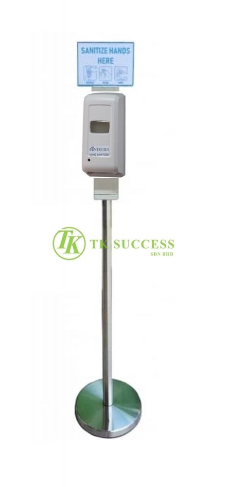 Vida Auto Hand Sanitizer Dispenser Liquid with Stainless Steel Stand