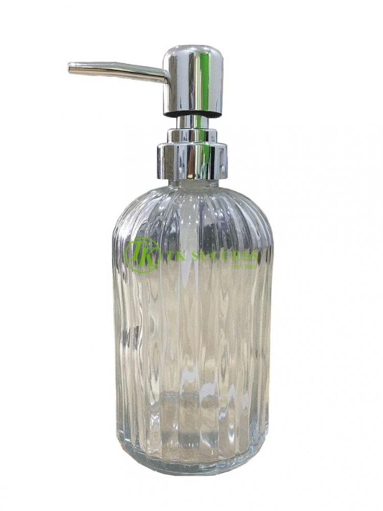 Glass Bottle Pump Hand Soap 500ml