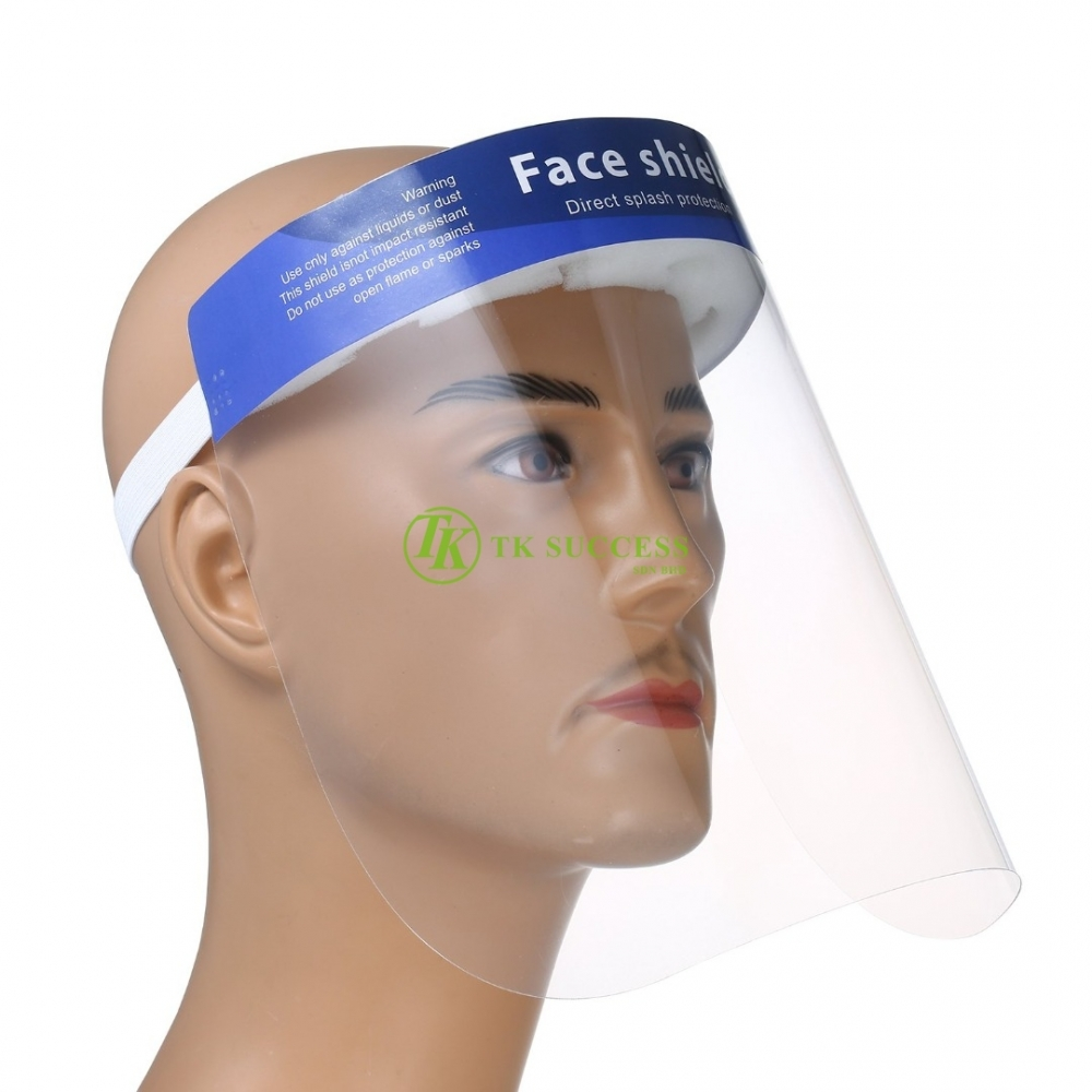 Face Shield Splash Prevention