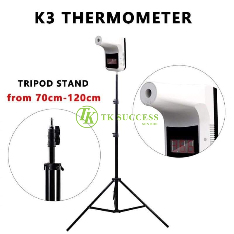 K3 Forehead Auto Thermometer With Tripod Stand