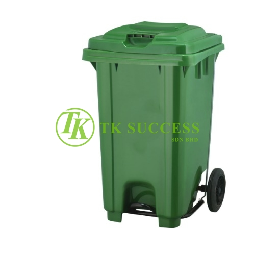 TOUGH-B Mobile Step On Bin 80L
