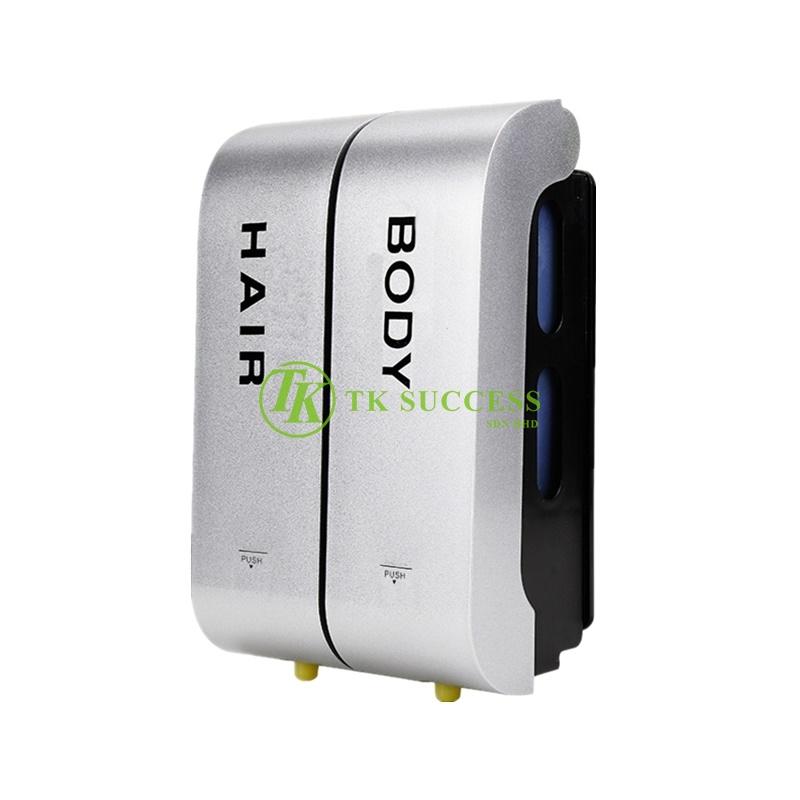 VIDA Square Twin Soap Dispenser (Hair & Body)