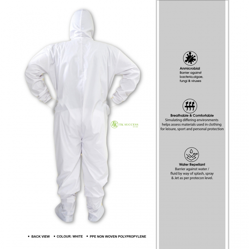 Disposable PPE Coverall Suit