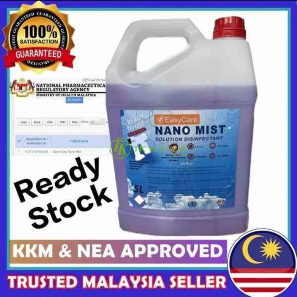 Easy Nano Mist Solution 5L (KKM Approved)